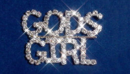 Custom Austrian Crystal Rhinestone Name Pins